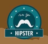 Hipster design illustration. — 图库矢量图片