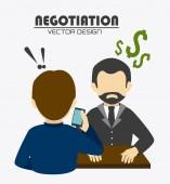 Business design illustration. — Stock Vector