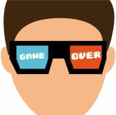 Video gamers design — Stock Vector