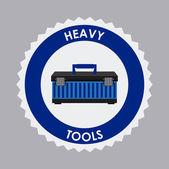Tools icon design — Stock Vector