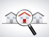 Immobiliare — Vettoriale Stock