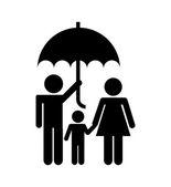 保险概念 — 图库矢量图片