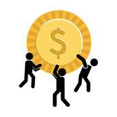 Money concept — Stock Vector