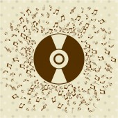 Music lifestyle  — Stock Vector