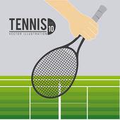 Sport design, vector illustration. — Vettoriale Stock