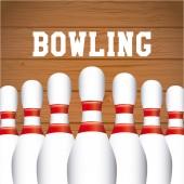 Sport bowling — Vecteur