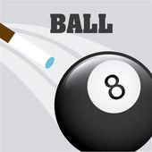 Billiard emblem  — Stock Vector