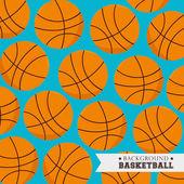 Basketball design, vector illustration. — Stock Vector