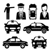 Taxi design, vector illustration. — Stock Vector