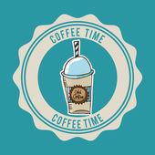 Время кофе — Cтоковый вектор