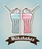 Milkshake — Stock Vector