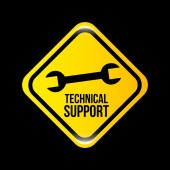 Technical support  — Stock Vector
