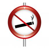 Dont smoke  — Stock Vector