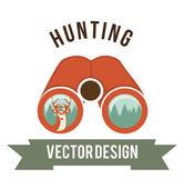 Deer signal  — Stock Vector