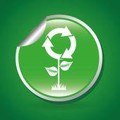 Eco friendly design — Stock Vector