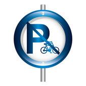 Parking sign design — Vecteur
