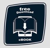 E-book concept design — Vector de stock