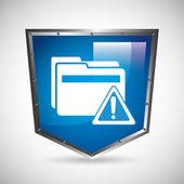 Computer virus design — Vector de stock