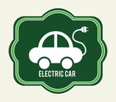 Electric car design — Stockvektor