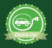 Electric car design — Stockvektor