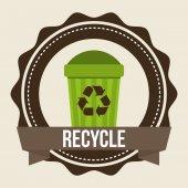 Eco friendly design — Stockvector