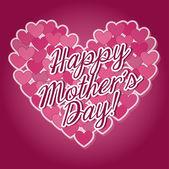 Desenho de dia de mães — Vetor de Stock