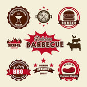 Barbecue food  — Stock Vector