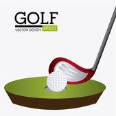 Golf design illustration. — Stockvektor