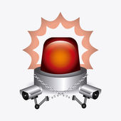 Security design illustration. — Stock Vector