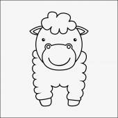 Animal de granja — Vector de stock