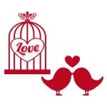 Love card — Stock Vector #67389553