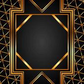 Guld bakgrund — Stockvektor