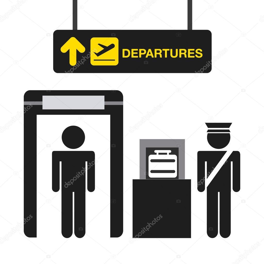 机场航站楼 — 图库矢量图像08