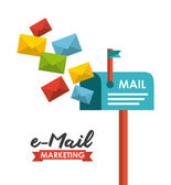 Email concept  — Stock Vector