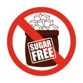 бесплатный сахар — Cтоковый вектор