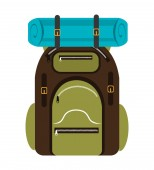 Camping design, vector illustration. — Vecteur