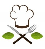 Voedsel ontwerp, vectorillustratie. — Stockvector