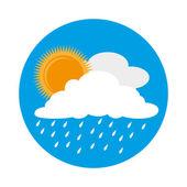 Weather design, vector illustration. — 图库矢量图片