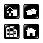 Immobilien — Stockvektor
