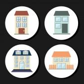 Real estate — Vector de stock
