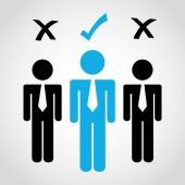 Teamwork people  — Stock Vector
