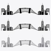 City design illustration — Stock Vector
