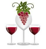 Wine design. — Stock Vector
