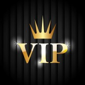 VIP design. — Stock Vector