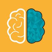 Brain design. — Stock Vector