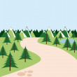 Forest landscape  — Stock Vector #68742813