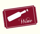 Wine concept  — Stock Vector