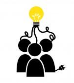Big idea — Stock Vector