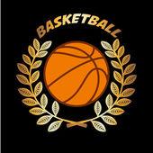 Campeonato de basquete — Vetor de Stock