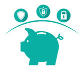 Insurance concept design — Stock Vector